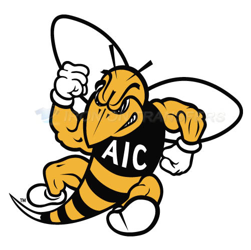 AIC Yellow Jackets 2009-Pres Secondary Logo T-shirts Iron On Tra