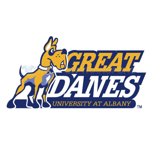 Albany Great Danes 2004-Pres Primary Logo T-shirts Iron On Trans