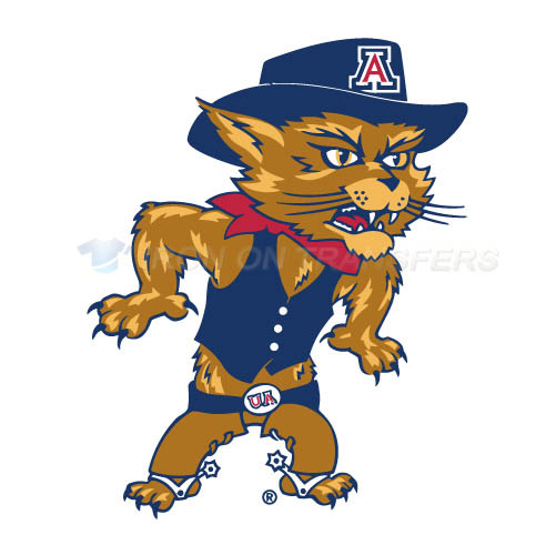 Arizona Wildcats 2003 Pres Mascot Logo T-shirts Iron On Transfer