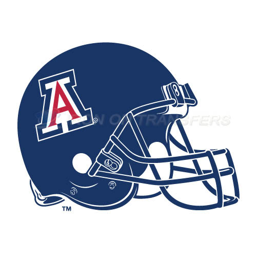 Arizona Wildcats 2004 Pres Helmet Logo T-shirts Iron On Transfer
