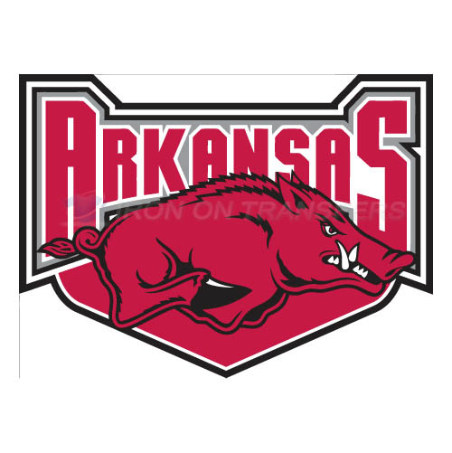 Arkansas Razorbacks 2001 2008 Alternate Logo T-shirts Iron On Tr