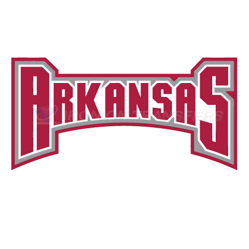 Arkansas Razorbacks 2001 2008 Wordmark Logo1 T-shirts Iron On Tr