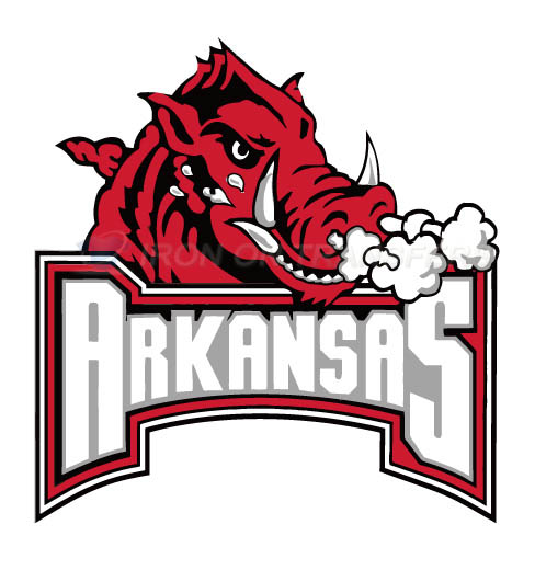 Arkansas Razorbacks 2001 Pres Primary Logo1 T-shirts Iron On Tra