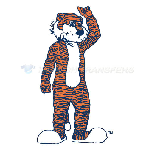 Auburn Tigers 1981 2003 Mascot Logo T-shirts Iron On Transfers N