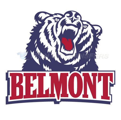 Belmont Bruins 2003 Pres Primary Logo T-shirts Iron On Transfers