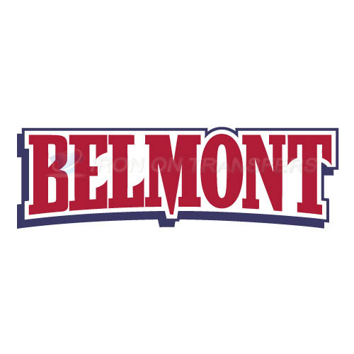 Belmont Bruins 2003 Pres Wordmark Logo T-shirts Iron On Transfer