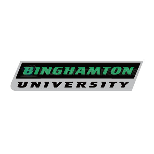 Binghamton Bearcats 2001 Pres Wordmark Logo T-shirts Iron On Tra