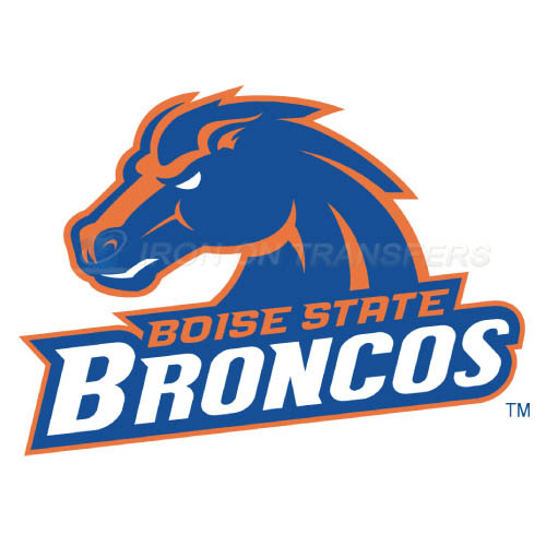 Boise State Broncos logo T-shirts Iron On Transfers N4009