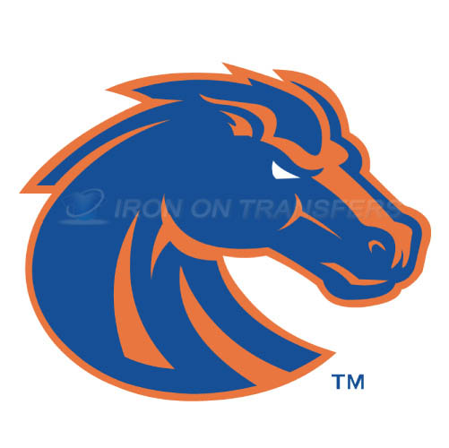 Boise State Broncos logo T-shirts Iron On Transfers N4011