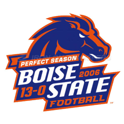 Boise State Broncos logo T-shirts Iron On Transfers N4012