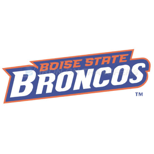 Boise State Broncos logo T-shirts Iron On Transfers N4013