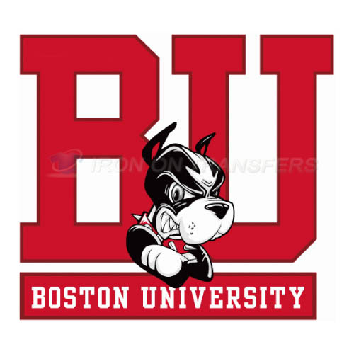 Boston University Terriers logo T-shirts Iron On Transfers N4017