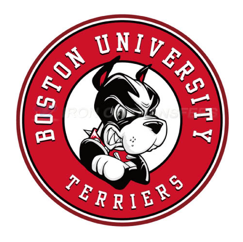 Boston University Terriers logo T-shirts Iron On Transfers N4019