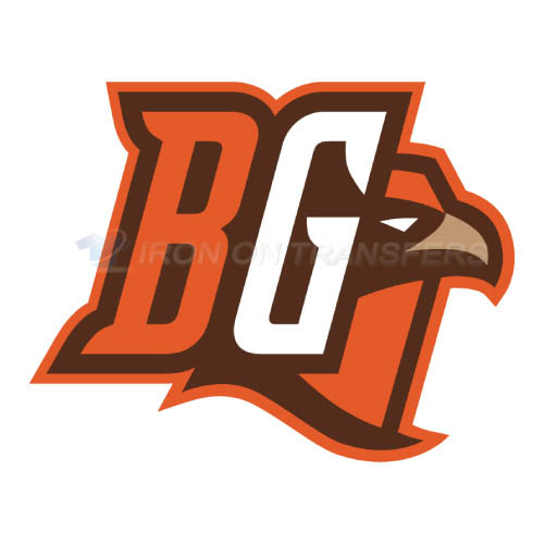Bowling Green Falcons logo T-shirts Iron On Transfers N4021
