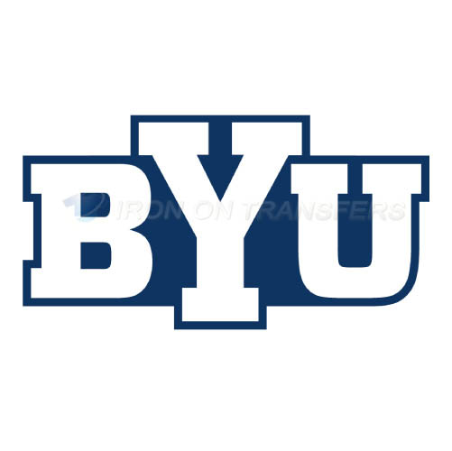 Brigham Young Cougars logo T-shirts Iron On Transfers N4027