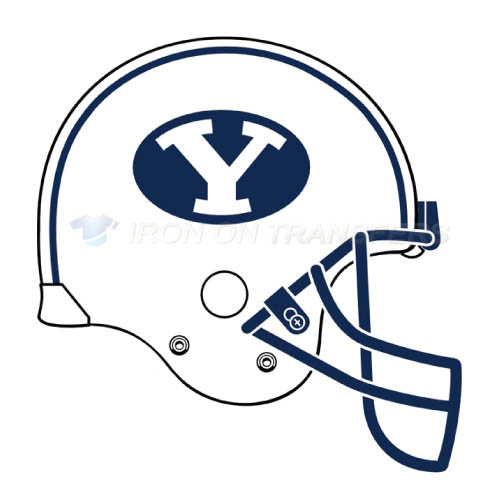 Brigham Young Cougars logo T-shirts Iron On Transfers N4028