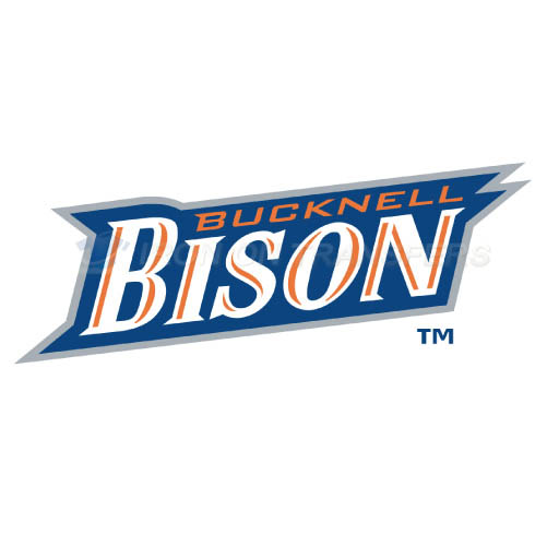 Bucknell Bison logo T-shirts Iron On Transfers N4036