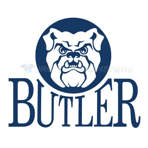 Butler Bulldogs logo T-shirts Iron On Transfers N4047