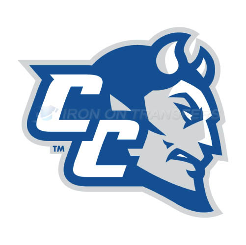 CCSU Blue Devils logo T-shirts Iron On Transfers N4098