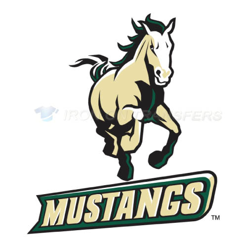 Cal Poly Mustangs logo T-shirts Iron On Transfers N4049