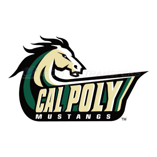 Cal Poly Mustangs logo T-shirts Iron On Transfers N4051