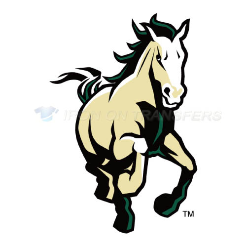 Cal Poly Mustangs logo T-shirts Iron On Transfers N4052