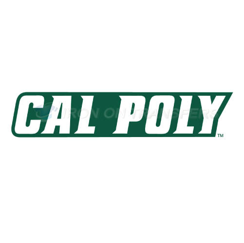 Cal Poly Mustangs logo T-shirts Iron On Transfers N4053