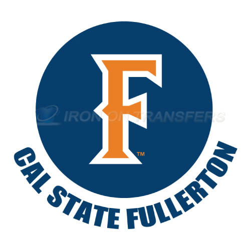Cal State Fullerton Titans logo T-shirts Iron On Transfers N4067