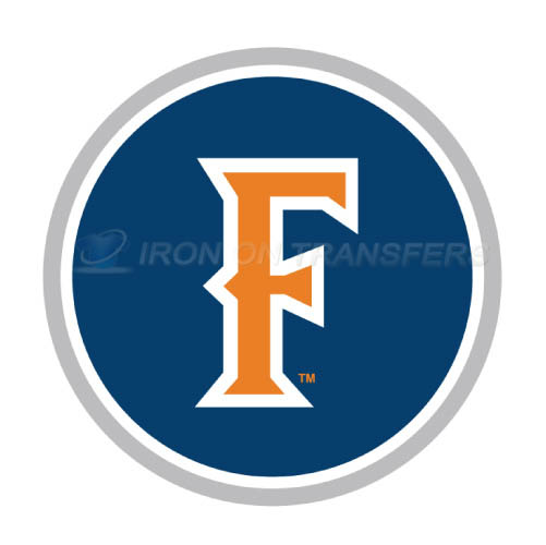 Cal State Fullerton Titans logo T-shirts Iron On Transfers N4068