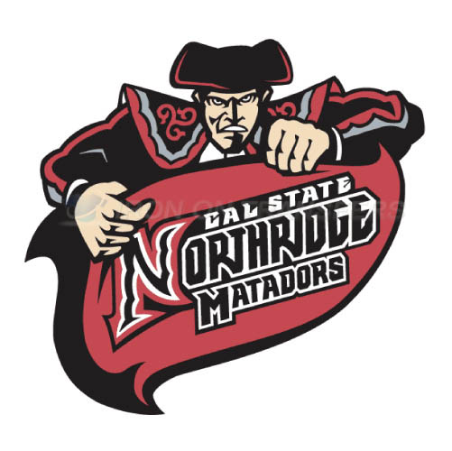 Cal State Northridge Matadors logo T-shirts Iron On Transfers N4
