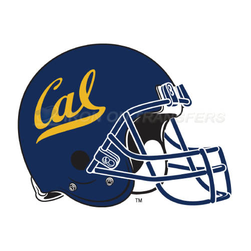 California Golden Bears logo T-shirts Iron On Transfers N4078