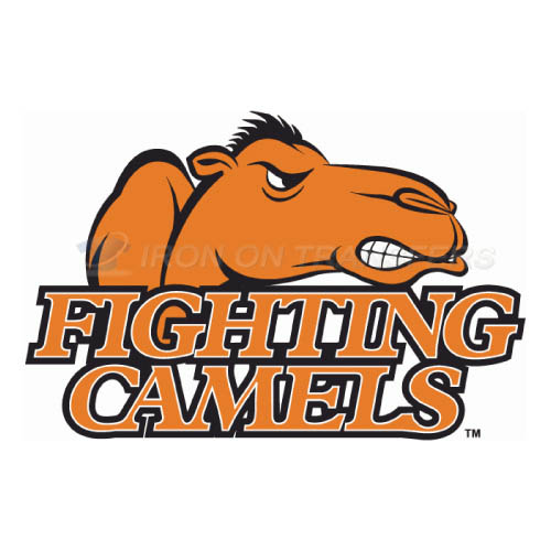 Campbell Fighting Camels logo T-shirts Iron On Transfers N4086
