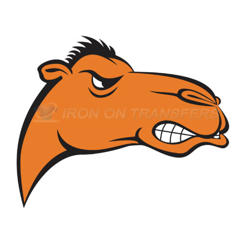 Campbell Fighting Camels logo T-shirts Iron On Transfers N4087