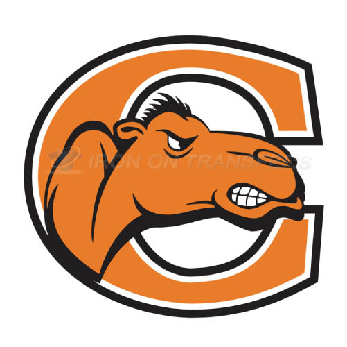 Campbell Fighting Camels logo T-shirts Iron On Transfers N4089