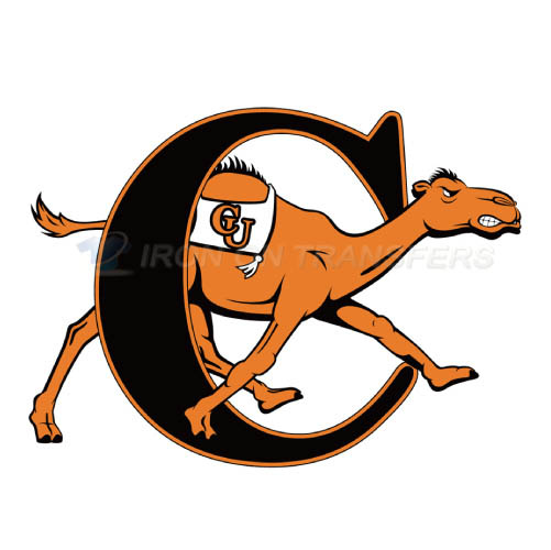 Campbell Fighting Camels logo T-shirts Iron On Transfers N4090