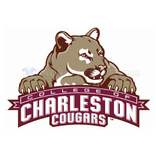 Charleston SC Cougars logo T-shirts Iron On Transfers N4125