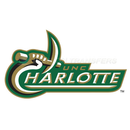 Charlotte 49ers logo T-shirts Iron On Transfers N4132