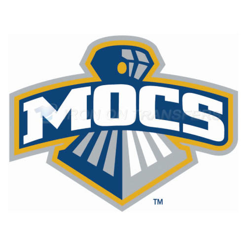 Chattanooga Mocs logo T-shirts Iron On Transfers N4134