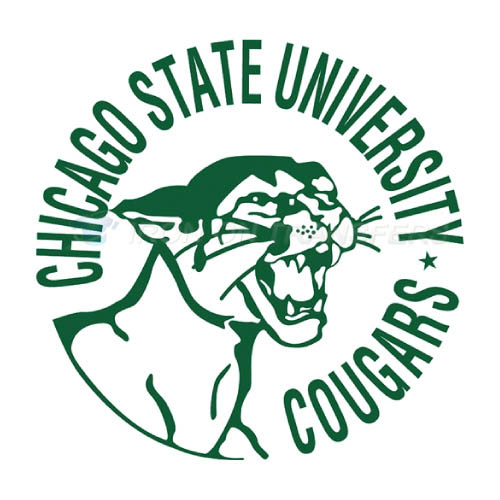 Chicago State Cougars logo T-shirts Iron On Transfers N4139