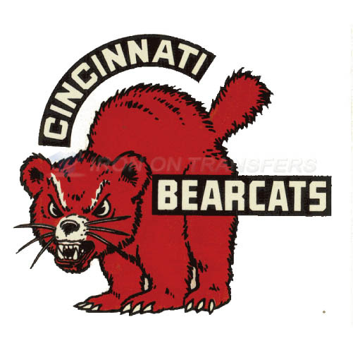 Cincinnati Bearcats logo T-shirts Iron On Transfers N4144
