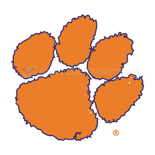 Clemson Tigers logo T-shirts Iron On Transfers N4146