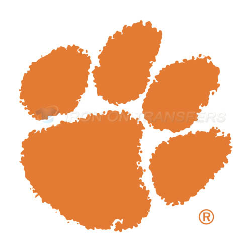Clemson Tigers logo T-shirts Iron On Transfers N4147