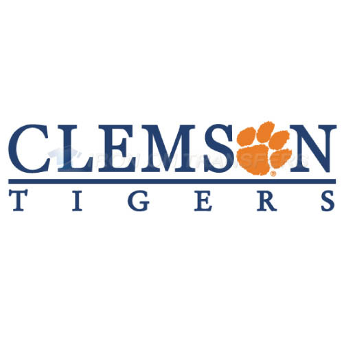 Clemson Tigers logo T-shirts Iron On Transfers N4149