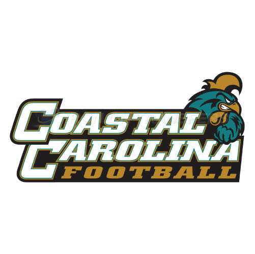 Coastal Carolina Chanticleers logo T-shirts Iron On Transfers N4