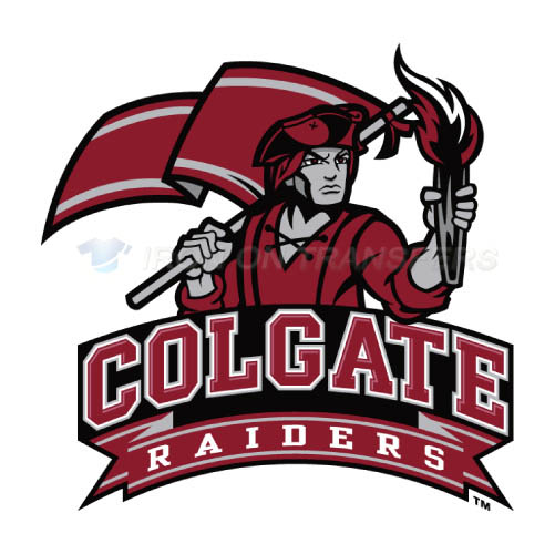 Colgate Raiders logo T-shirts Iron On Transfers N4161