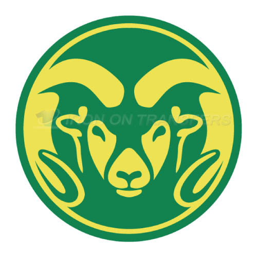 Colorado State Rams logo T-shirts Iron On Transfers N4175