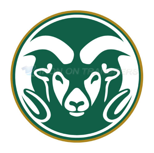 Colorado State Rams logo T-shirts Iron On Transfers N4176