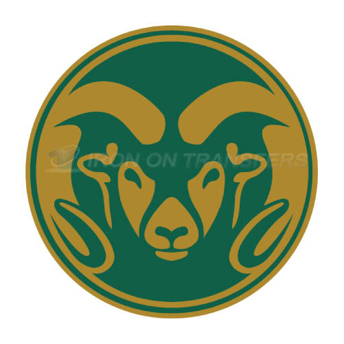Colorado State Rams logo T-shirts Iron On Transfers N4177