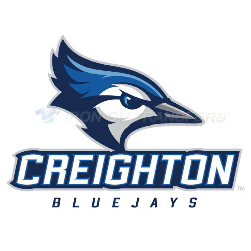 Creighton Bluejays logo T-shirts Iron On Transfers N4197