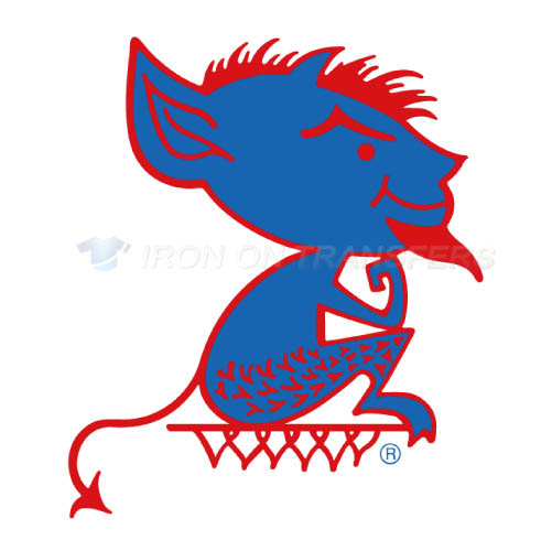 DePaul Blue Demons Logo T-shirts Iron On Transfers N4263